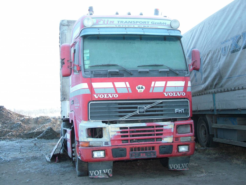 разбор грузовых volvo f12